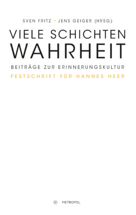 Fritz Geiger Festschrift_Cover