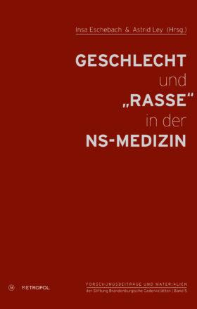 """Eschebach_Ley_Geschlecht und """"Rasse""""_Cover"""