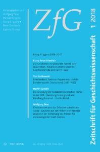 Zeitschrift für Geschichtswissenschaft